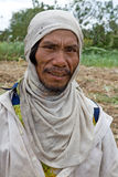 Filipino sugar cane worker Stock Images