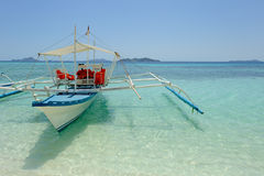 Filipino traditional boat Royalty Free Stock Images