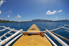 Filipino traditional boat Royalty Free Stock Photography