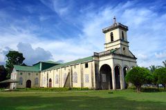 Filipino village church Stock Photography
