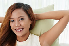 Filipino woman Stock Images