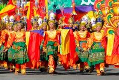 Filipiny, Mindanao, Tnalak festiwal Fotografia Royalty Free