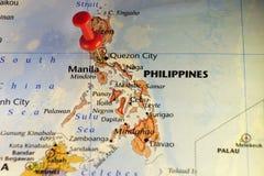 Filippijnen, eilandland in Azië Stock Afbeelding