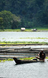 Filippijnen, Mindanao, de Visser van Sebu van het Meer Royalty-vrije Stock Afbeelding