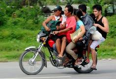 Filippijnen, Mindanao, Habal Habal Stock Fotografie