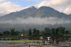 Filippijnen, Zuiden Cotabato, Meer Seloton Stock Foto