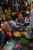 Filippijnse Plantaardige Markt Stock Afbeelding