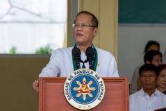 Filippijnse President Aquino Stock Foto