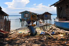 Filippine, baia di Sarangani Fotografia Stock Libera da Diritti