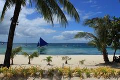 Filippine, Boracay Immagini Stock