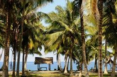Filippinerna Mindanao, Kiamba Arkivbild