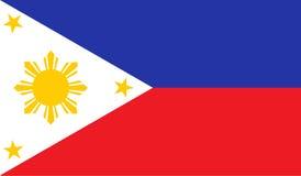Filippinernaflaggabild Royaltyfri Bild