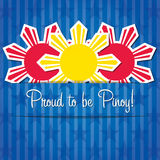 Filippinernasjälvständighetsdagen Royaltyfria Foton