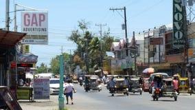 Filippinsk gata Arkivbild