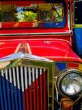 filippinsk jeepney Fotografering för Bildbyråer