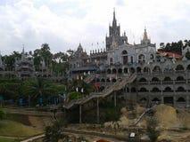 filippinsk katolsk kyrka royaltyfri fotografi