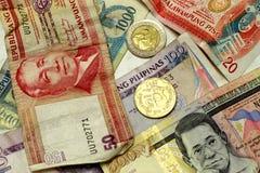 filippinsk peso Royaltyfria Foton