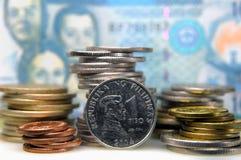 filippinsk valuta arkivfoton
