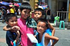 filippinska barn Royaltyfria Foton