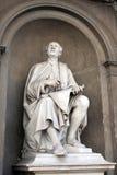 Filippo Brunelleschi雕象Luigi ・ Pampaloni。 免版税库存照片