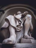 Filippo Brunelleschi statua Zdjęcia Stock