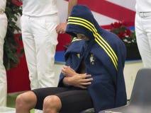 Filippo Magnini swimmer during 7th Trofeo citta di Milano swimming competition. Stock Photos