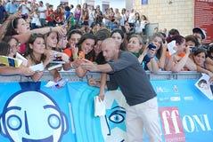 Filippo Nigro al Giffoni Film Festival 2013 stock foto's