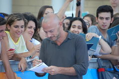 Filippo Nigro al Giffoni Film Festival 2013 Royalty Free Stock Image