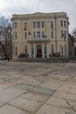 FILIPPOPOLI, BULGARIA - 30 DICEMBRE 2016: Costruzione dell'università Paisii Hilendarski di Filippopoli Fotografia Stock