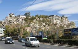 FILIPPOPOLI, BULGARIA - 9 NOVEMBRE 2015: vecchi buikldings in histori Immagine Stock