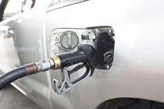 Fill fuel vehicles Stock Photography