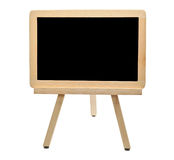 Fill Me In. A small blackboard isolated on white Stock Photography