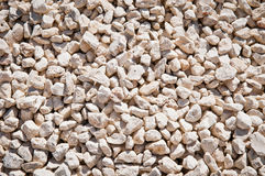 Fill Rock. White fill rock used in construction and landscaping Stock Images
