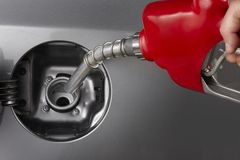 Fill up Royalty Free Stock Photo