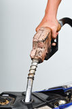 Fill up fuel Stock Images