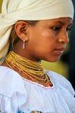 Fille équatorienne Image libre de droits