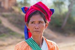 Fille érotique Lac Inle, Myanmar photographie stock libre de droits
