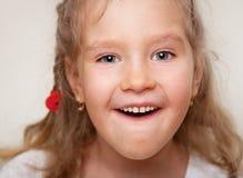 Fille étonnée Photos libres de droits