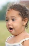 Fille étonnée Images libres de droits