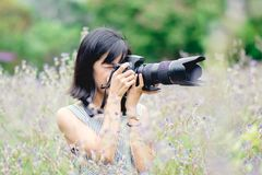 Fille Photographie stock