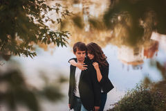 Fille affectueuse Image stock