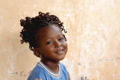 Fille africaine Photographie stock