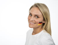 Fille allemande Photo libre de droits