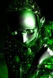 Fille androïde illustration libre de droits