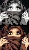 fille Arabe illustration libre de droits