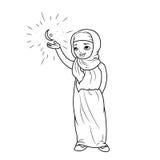 Fille arabe Images libres de droits