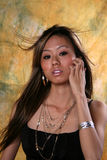 Fille asiatique photos libres de droits
