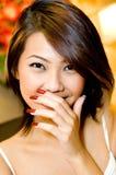 Fille asiatique Photographie stock libre de droits