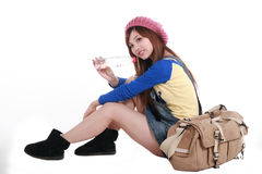 fille asiatique Image stock