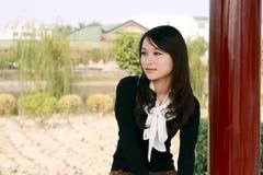 fille asiatique assez Photo libre de droits